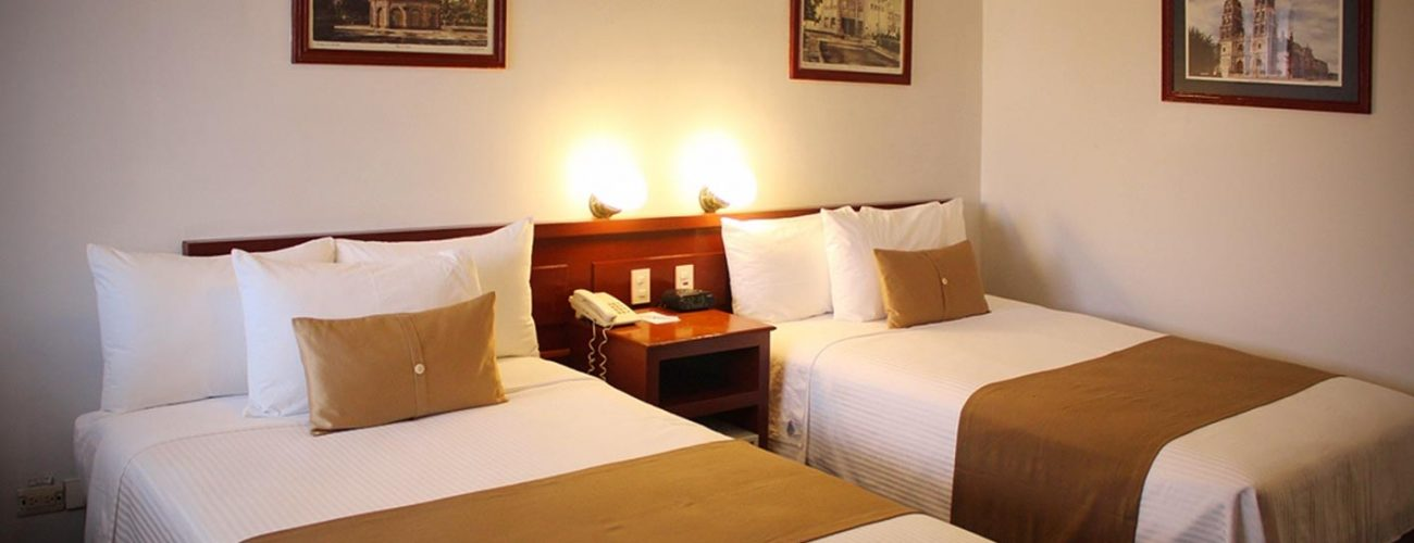 Habitación Doble Hotel Best Western Plus Plaza Vizcaya Durango (1)