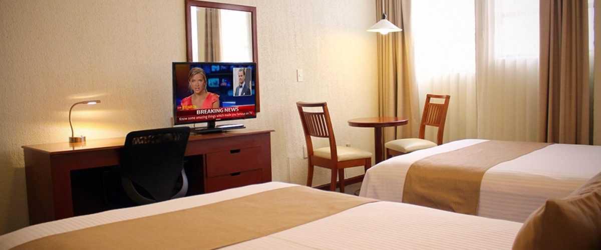 Habitación Doble Hotel Best Western Plus Plaza Vizcaya Durango (5)