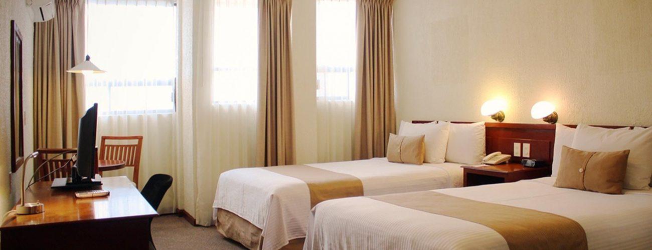 Habitación Doble Hotel Best Western Plus Plaza Vizcaya Durango (6)