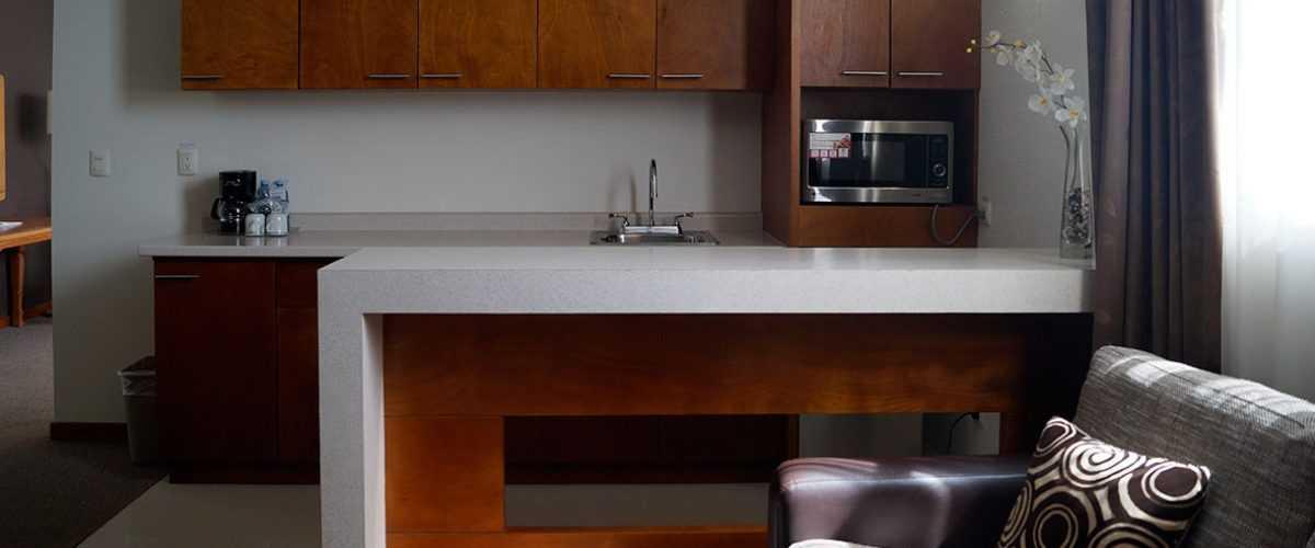 Habitación Junior Suite con Cocineta Hotel Best Western Plus Plaza Vizcaya Durango 4
