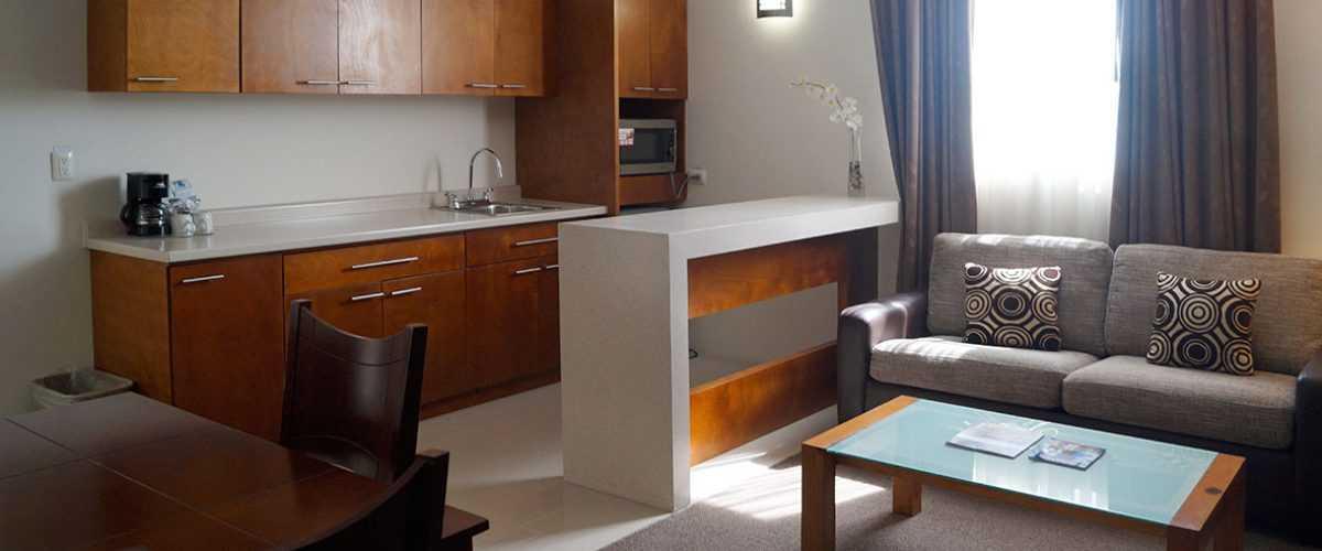 Habitación Junior Suite con Cocineta Hotel Best Western Plus Plaza Vizcaya Durango 7